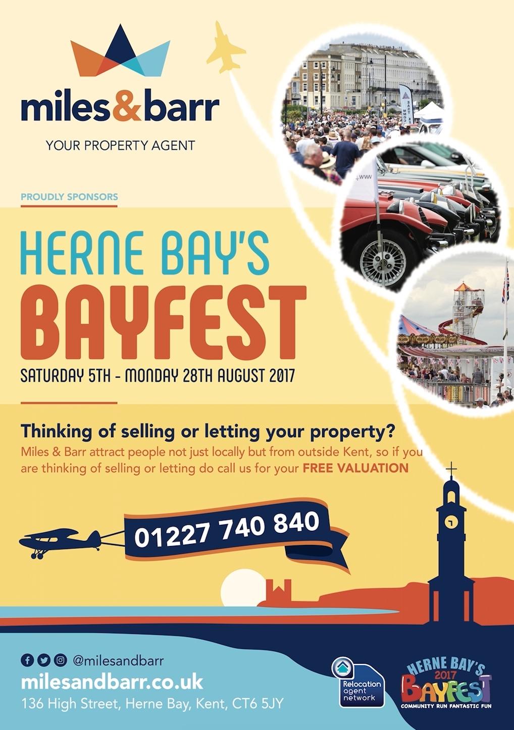 Bayfest front flyer