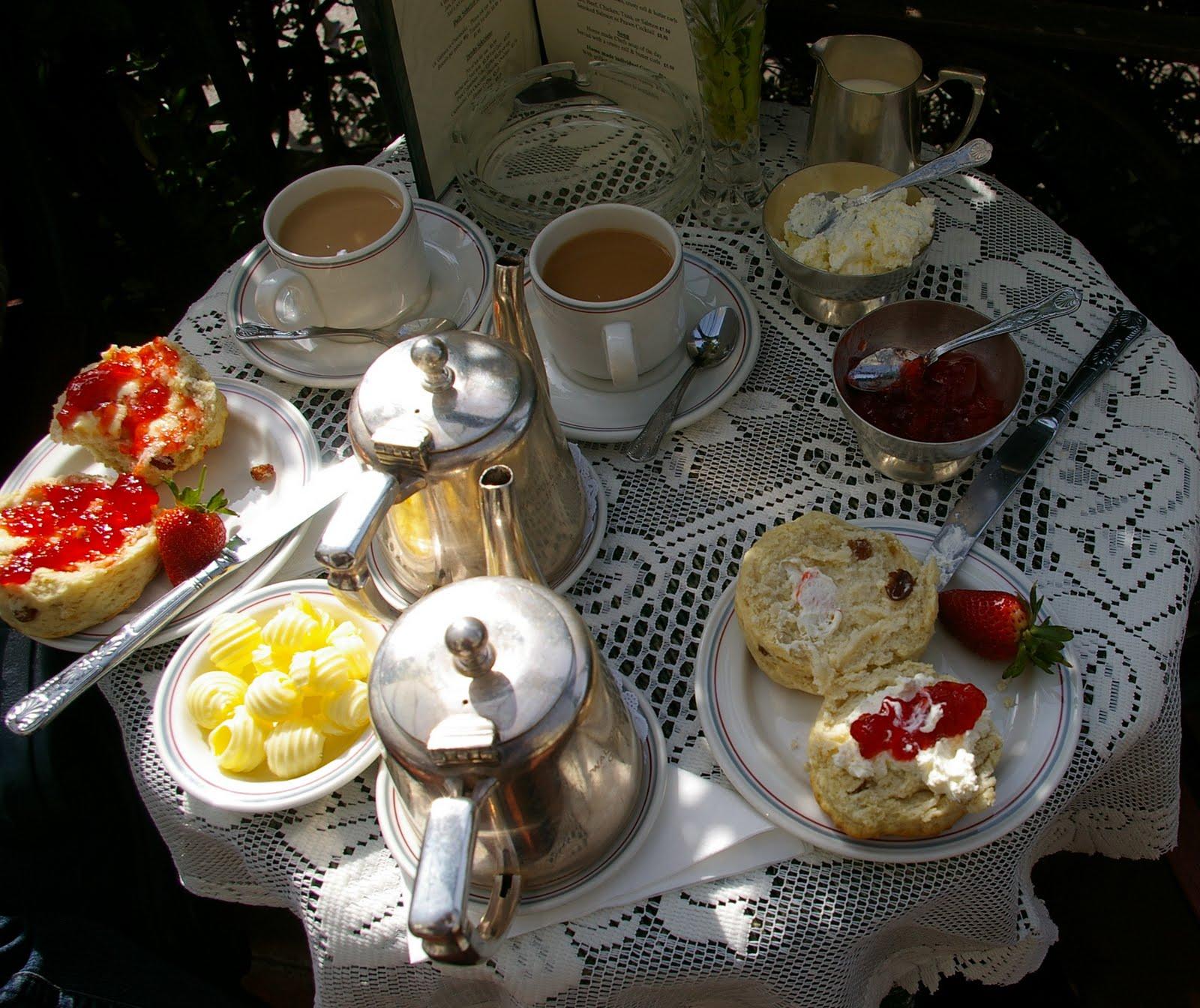 Cream tea Ciftonville Margate