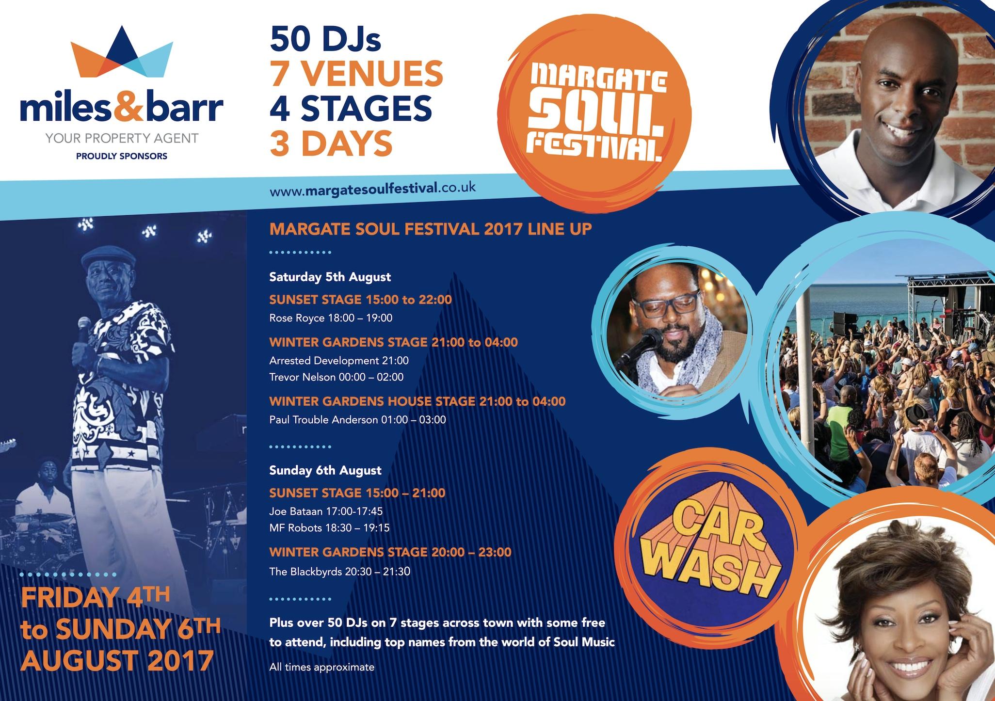 Margate Soul Fest 2017