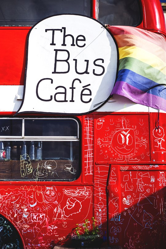 exterior the Bus Cafe fort road yard margate kent conde nast traveller 17aug17 David Babaian leica photography 540x810