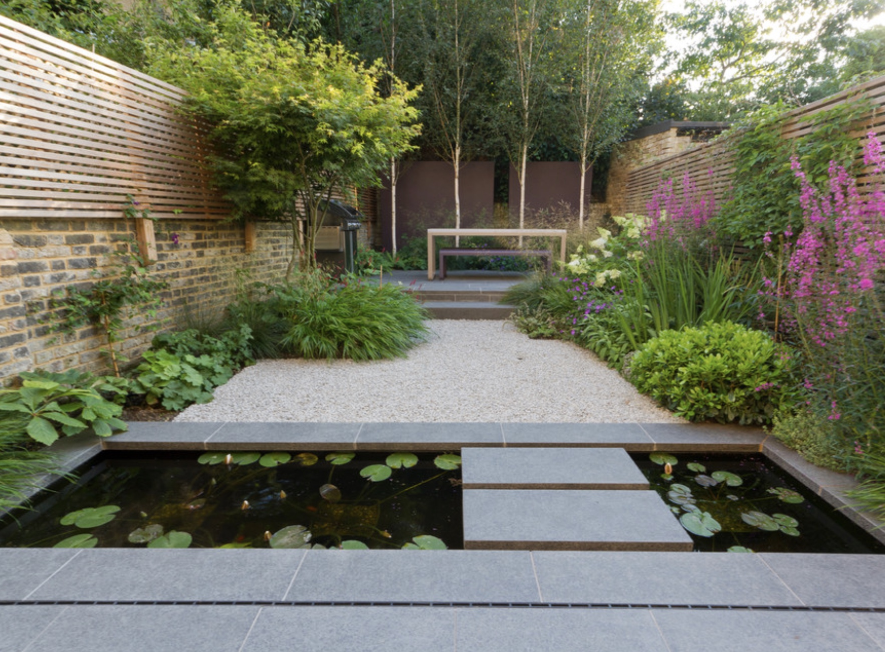 John Davies garden