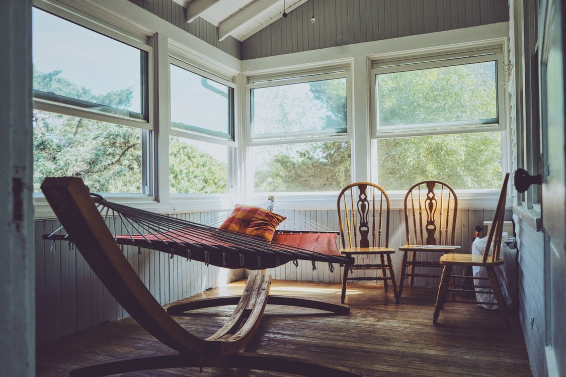 Relaxed interior stock